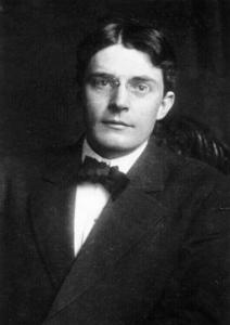 Black and white image of John Broadus Watson