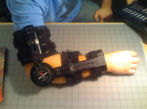 Photo of arm brace